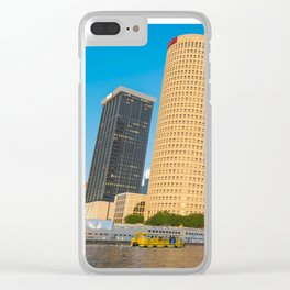 Cotton Tampa Clear iPhone Case