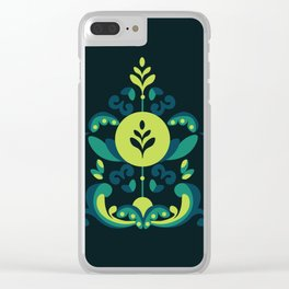 Frozen Rosemailing Clear iPhone Case