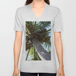 Coconut Palm Unisex V-Neck