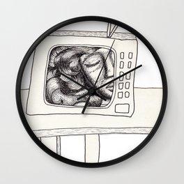 Three Sleepers - Television Wall Clock