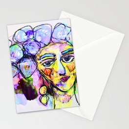 She kept it all to herself Stationery Cards