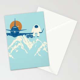 Hitchin' a Ride Stationery Cards