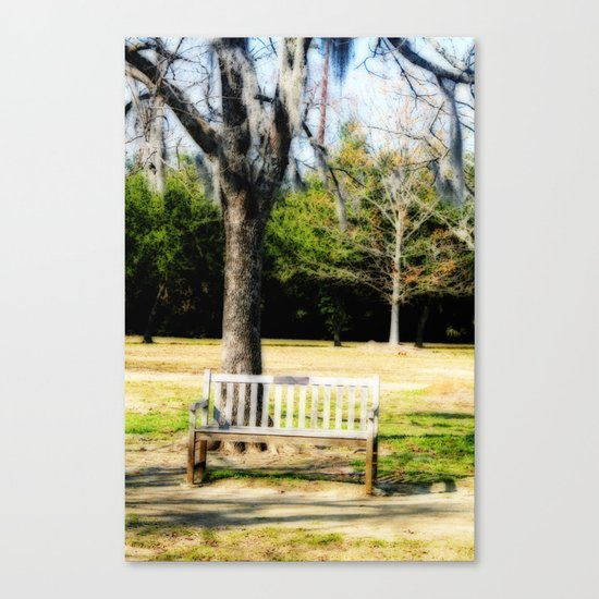 Where We First Met Canvas Print