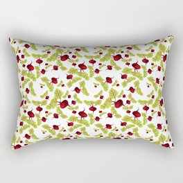 Beauty and the Beets Rectangular Pillow