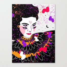 The dreams of Björk Canvas Print