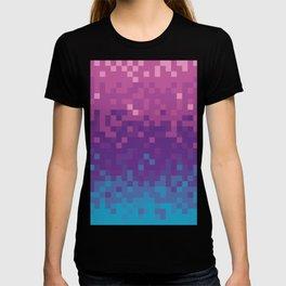 Pixel color T-shirt
