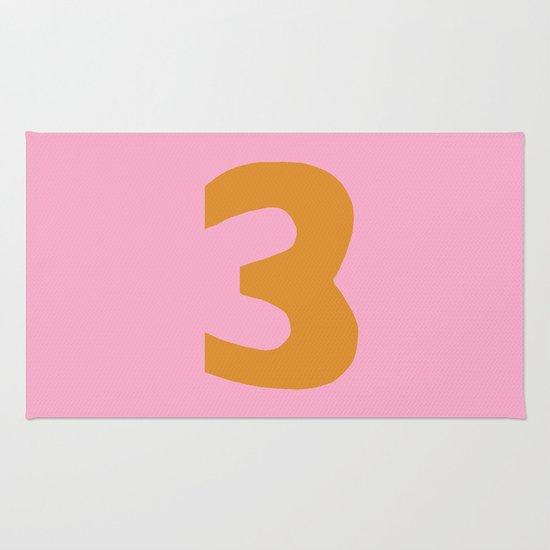 Number 3 Rug