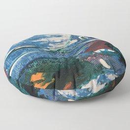 Mini World Environmental Blues 2 Floor Pillow