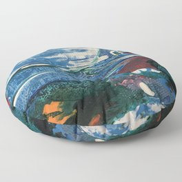 Mini World Environmental Blues 2 Floor Pillow