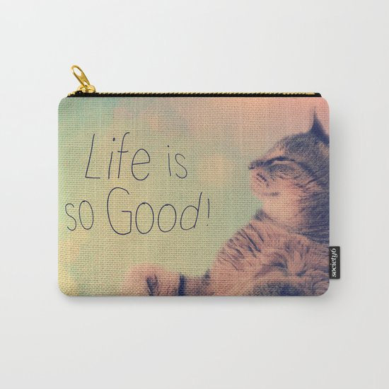 Dancing Kitty Cat Carry-All Pouch