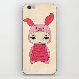 A Boy - Piglet (porcinet) iPhone Skin