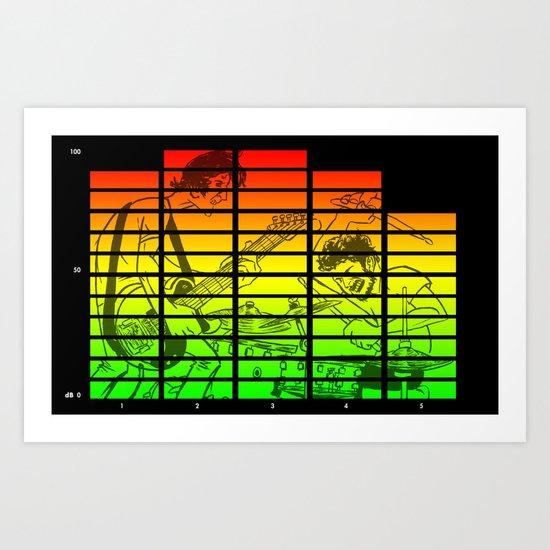 """""""Celebration Rock"""" by Dmitri Jackson Art Print"""