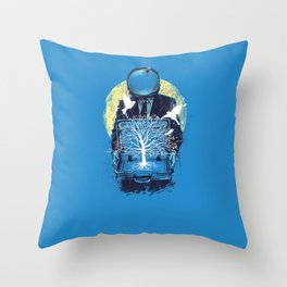 A new life Throw Pillow