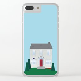Daily Orange House Clear iPhone Case