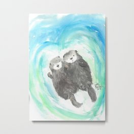 "Made for each ""otter"" Metal Print"