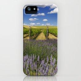 Countryside Vinyard iPhone Case