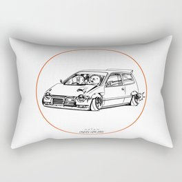 Crazy Car Art 0211 Rectangular Pillow