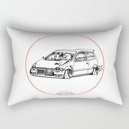 Crazy Car Art 0211 Rectangular Pillow