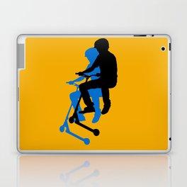 Landing Gears - Stunt Scooter Rider Laptop & iPad Skin