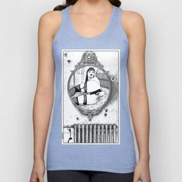 asc 703 - L'énigme en chambre close (Locked-room mystery) Unisex Tank Top