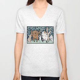 Wild and Wooly- Max Unisex V-Neck