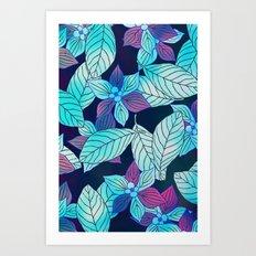 Floral Pattern 5 Art Print