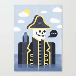 Dead Men Tell No Tales Canvas Print