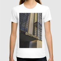 bauhaus T-shirts featuring Bauhaus Sunset by Nat Alonso