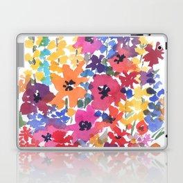 Bright Summer Garden Laptop & iPad Skin