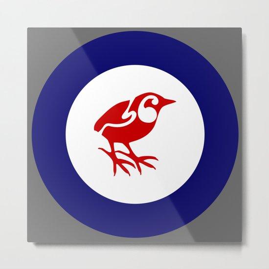 Rockwren Air Force Roundel Metal Print