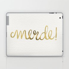 Pardon My French – Gold Ink Laptop & iPad Skin