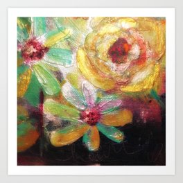 Late Flowers of Fall Art Print