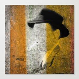 The Detective Canvas Print