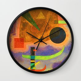 Three Elements - Digital Remastered Edition Wall Clock