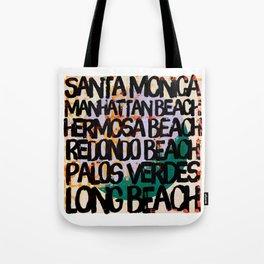 South Bay Los Angeles Tote Bag