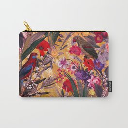 Floral and Birds XXVIII Carry-All Pouch