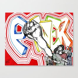 Unlimited Power Canvas Print