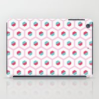 hexagon iPad Cases featuring Hexagon Pattern by C Designz