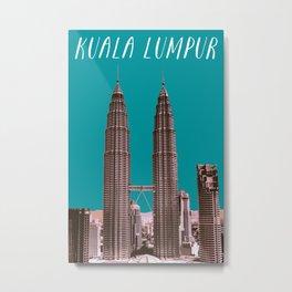 Kuala Lumpur - KLCC Metal Print