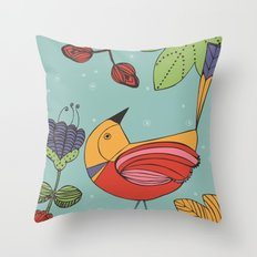 I like this place Throw Pillow