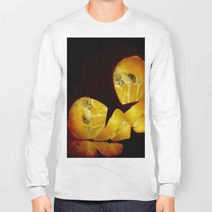 Lemon Bone Long Sleeve T-shirt