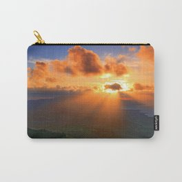 Inspirational heaven sunset Carry-All Pouch
