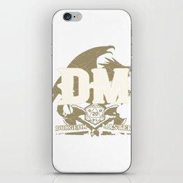 Tabletop Gaming DM Print Dragons D20 Dice RPG Print iPhone Skin