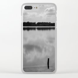 Cloud reflections Clear iPhone Case