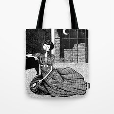 it is only a paper moon Tote Bag