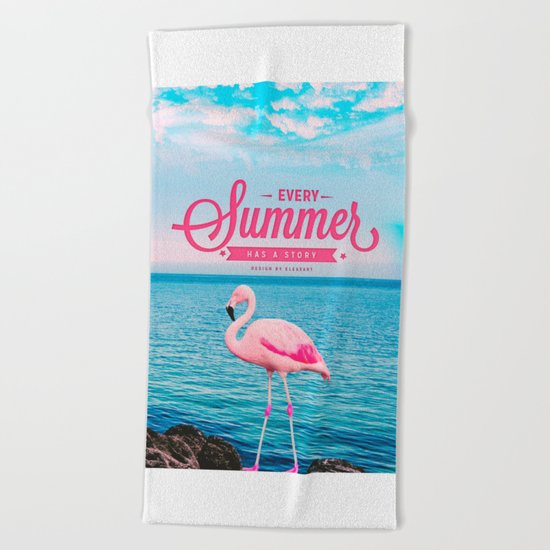 Every summer has a story Beach Towel