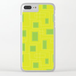 Got Me In Stiches - Yellow Clear iPhone Case