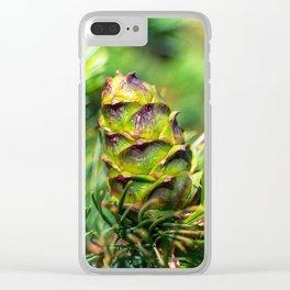 Dwarf cone Clear iPhone Case