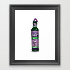 HP Sauce Framed Art Print
