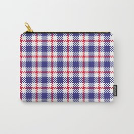 Seamless pattern stripes and plaid  Carry-All Pouch